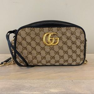 Gucci GG Marmont Small Shoulder Bag, EUC
